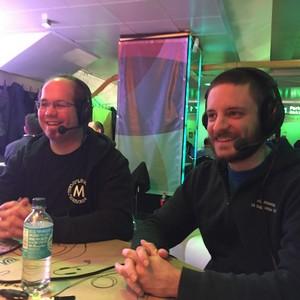 Guido Schmitz (links), Daniel Fett (rechts)